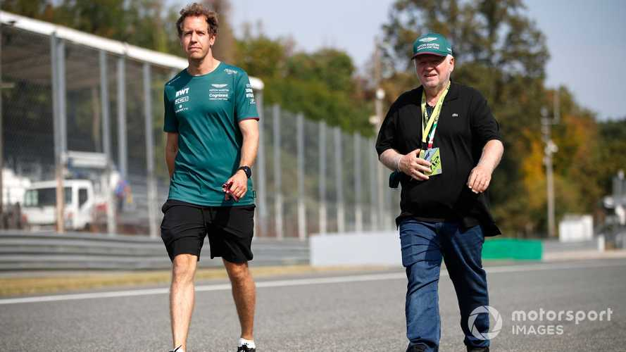 Vettel 'not worried' about Aston Martin future, expects news soon