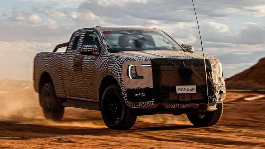 Oficial: Nova Ford Ranger 2023 será revelada ainda em 2021