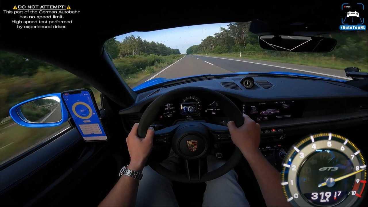 Porsche 911 GT3 Hızlanma Videosu