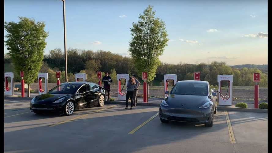 Watch Three Different Teslas Race 8 Other EVs On 1,000-Mile Trip
