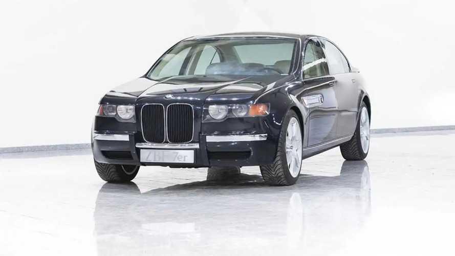 BMW Série 7 ZBF (1995) - Le concept que nous n'avons jamais vu