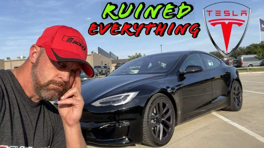 The Tesla Model S Plaid Has Ruined Everything, But That's Ok