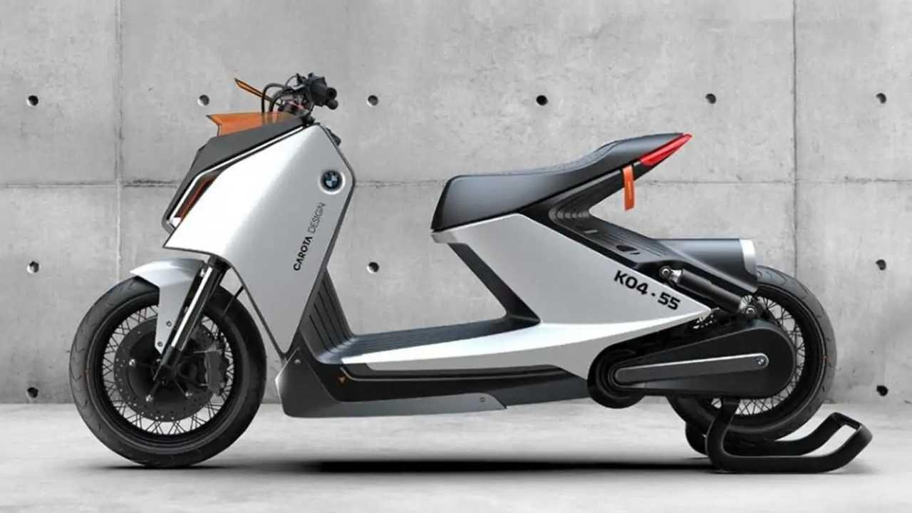 BMW K04-55 memiliki gaya retro futuristik karya desainer Vietnam.