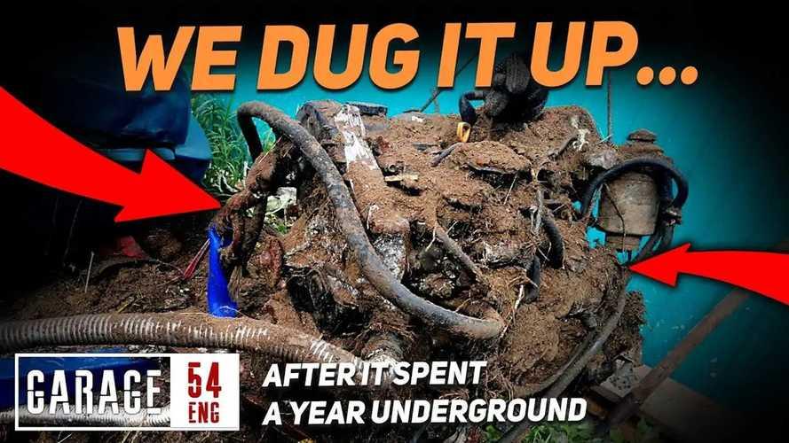 """La """"forza"""" del diesel: il motore riparte dopo un anno sotto terra"""