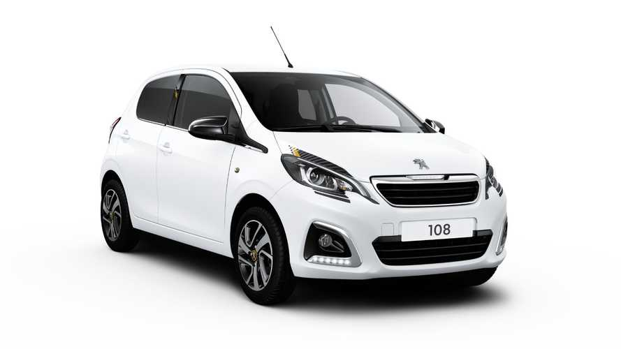 Updated Peugeot 108 starts at just over £13,000