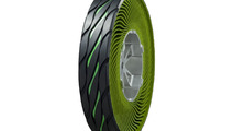 Bridgestone non-pneumatic airless tire concept 08.12.2011