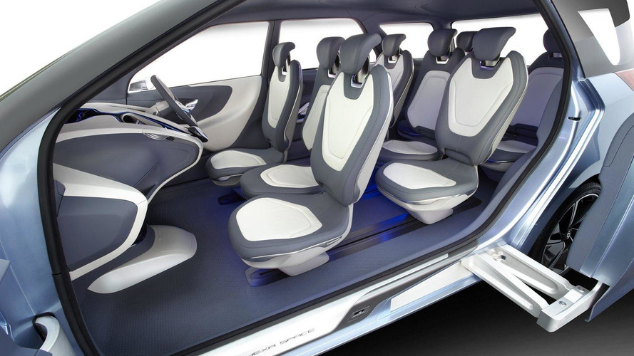 Hyundai Debuts Hexa Space MPV concept at Delhi Auto Expo 2012
