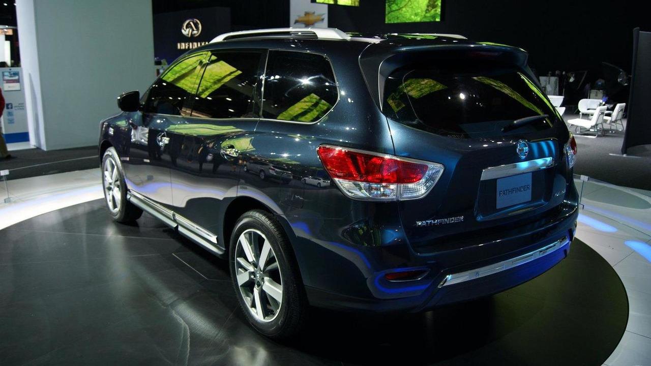 Nissan Pathfinder concept live in Detroit 09.1.2012