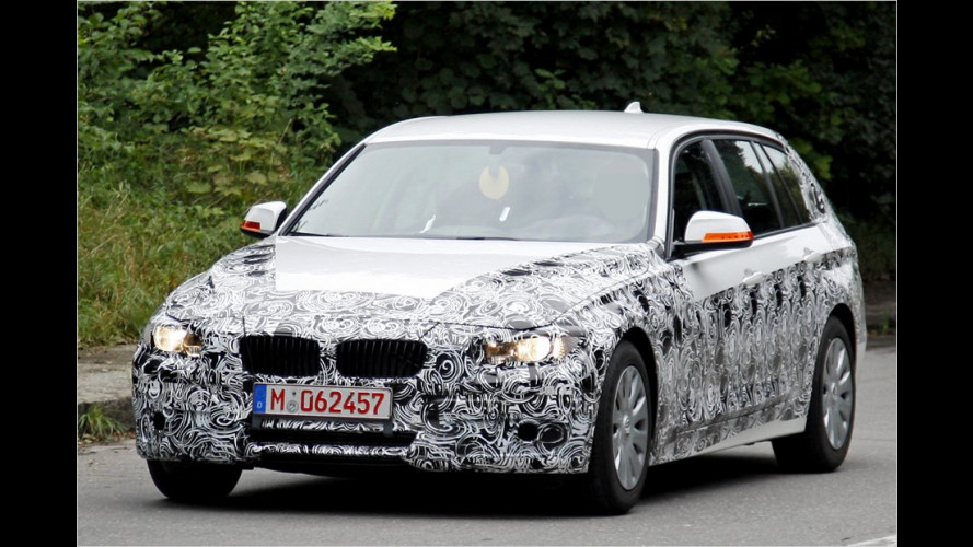 Erwischt: Neuer BMW 3er Touring