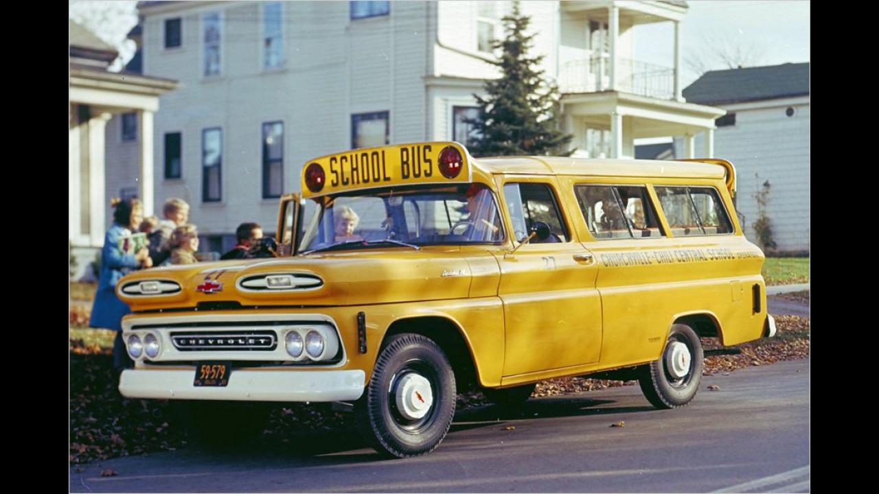 Suburban School Bus (1959)
