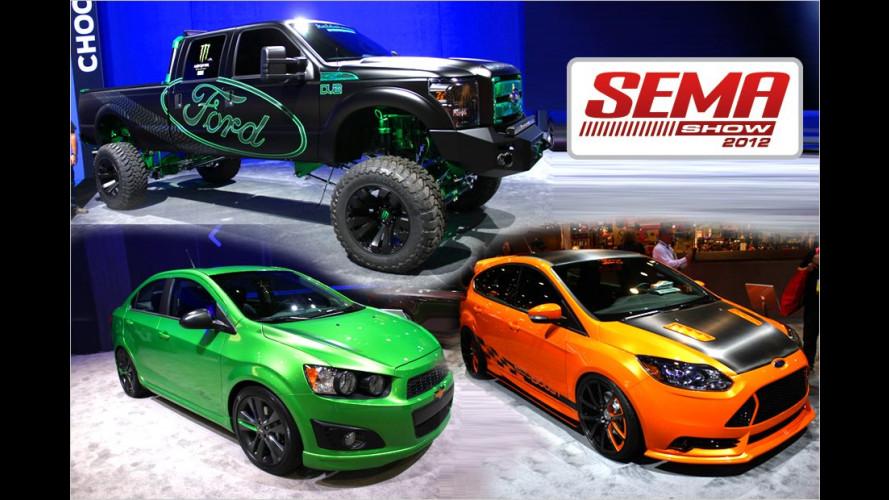 SEMA 2012: Die Highlights der Markenhersteller