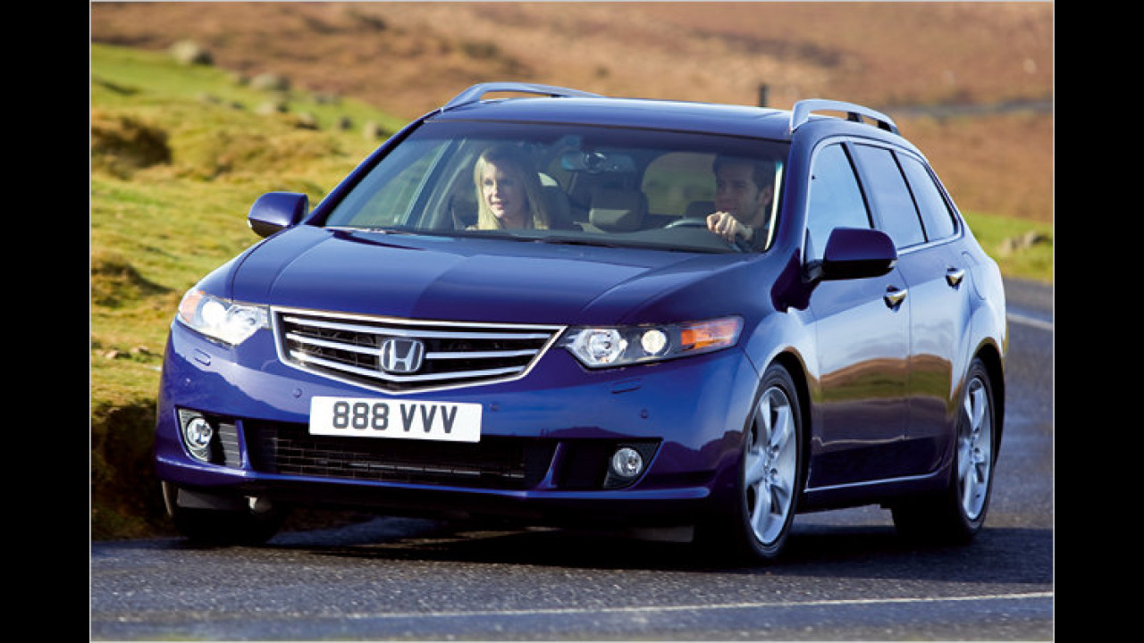 Mittelklasse, 2. Platz: Honda Accord