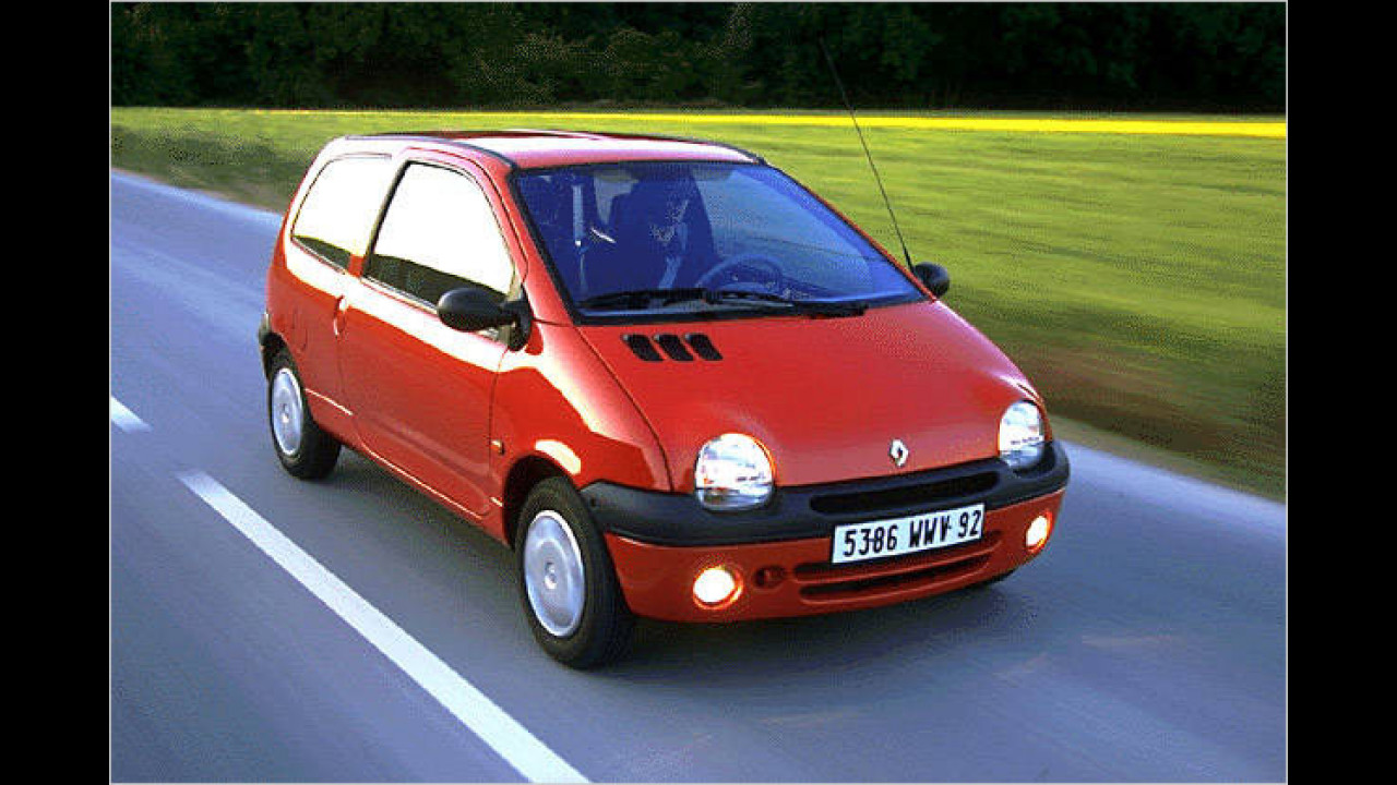 Platz 9: Renault Twingo (2,3 Prozent)