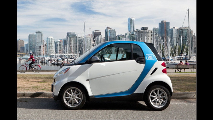 Daimler weitet Mobilitätsprogramm car2go nach Kanada aus