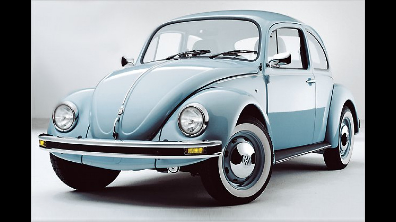 Platz 3: VW Käfer (23,5 Prozent)