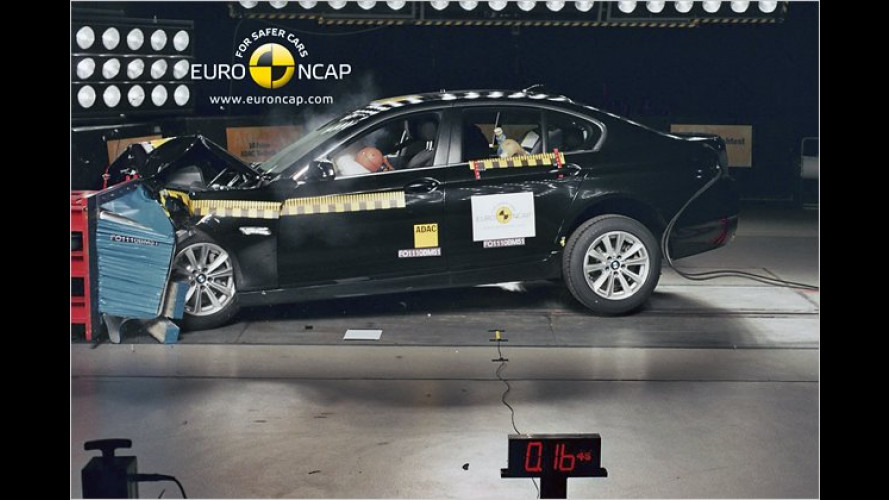 EuroNCAP-Crashtests 2010: Welche Autos sind am sichersten?