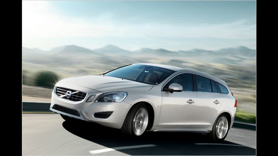 Volvo V60: Diesel-Plug-in-Hybrid auf Genfer Autosalon 2011