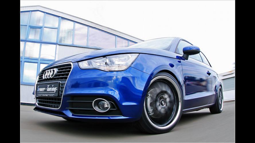 Sportlichere Ausstrahlung: Senner pimpt den kleinen Audi