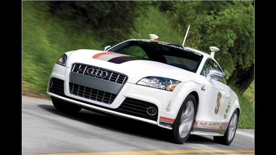 Autonomer Audi TTS bereits in der Erprobung