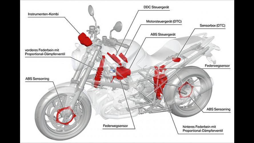 Adaptive Dämpfung bald auch für Motorräder