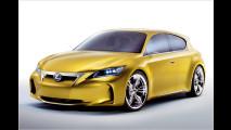 lexus ct 200h hybrid kompakter auf dem genfer auto salon 2010