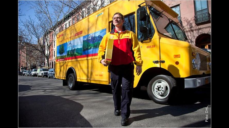 """Deutsche Post rüstet in Manhattan auf """"grüne"""" Flotte um"""