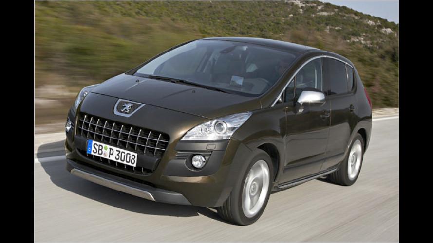 Peugeot 3008 und 5008 als Business-Line-Modelle