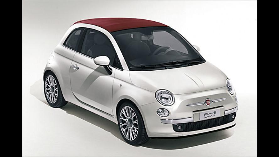 Weltpremiere: Fiat zeigt den 500C auf dem Genfer Auto-Salon