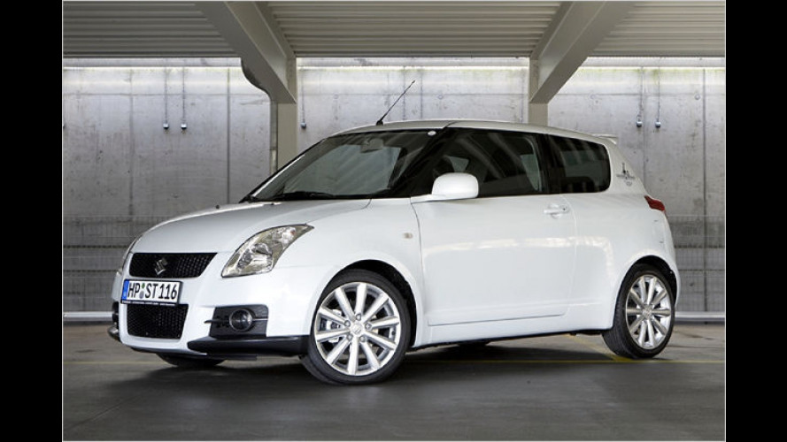 Suzuki legt Sondermodell Swift Sport ,Rock am Ring