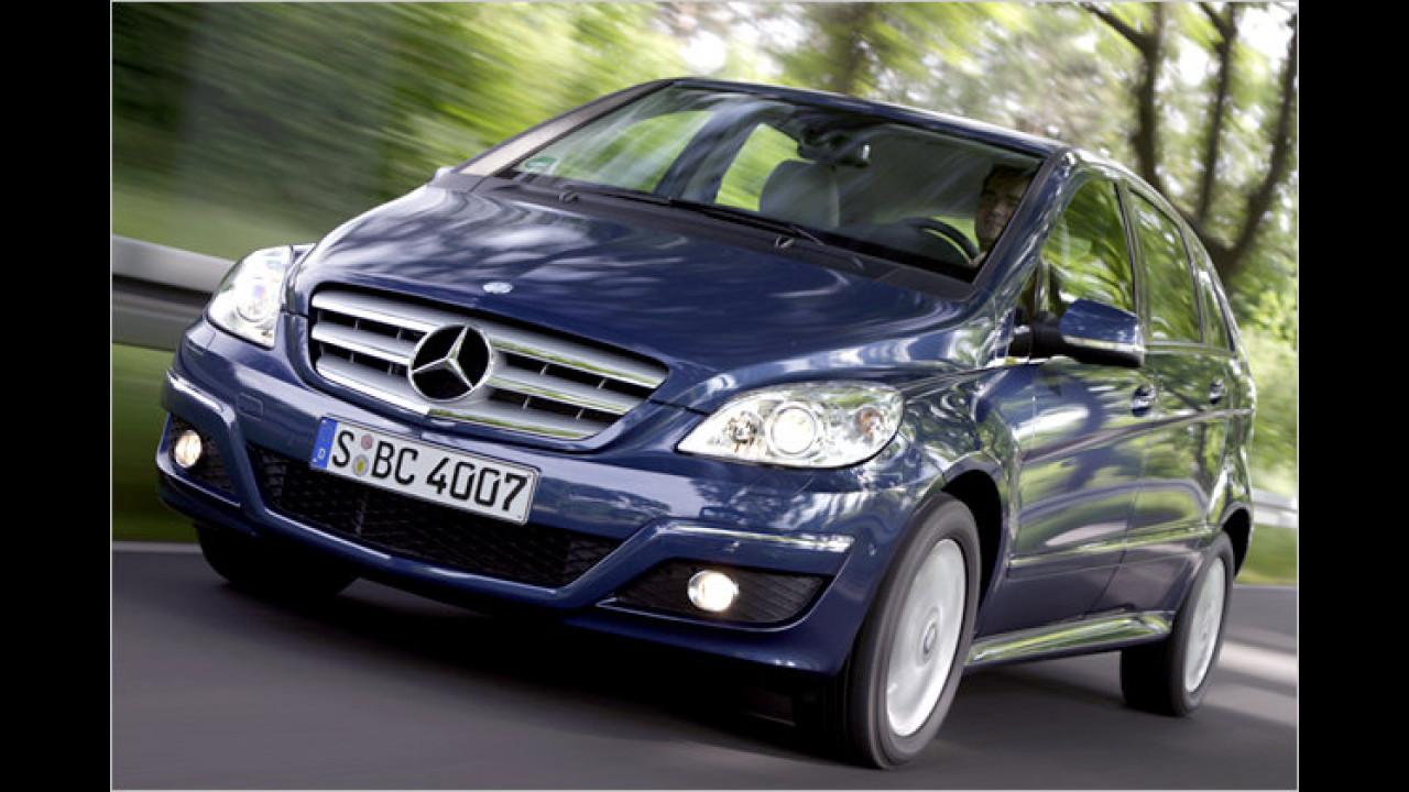 Platz 3 Vans: Mercedes-Benz B-Klasse