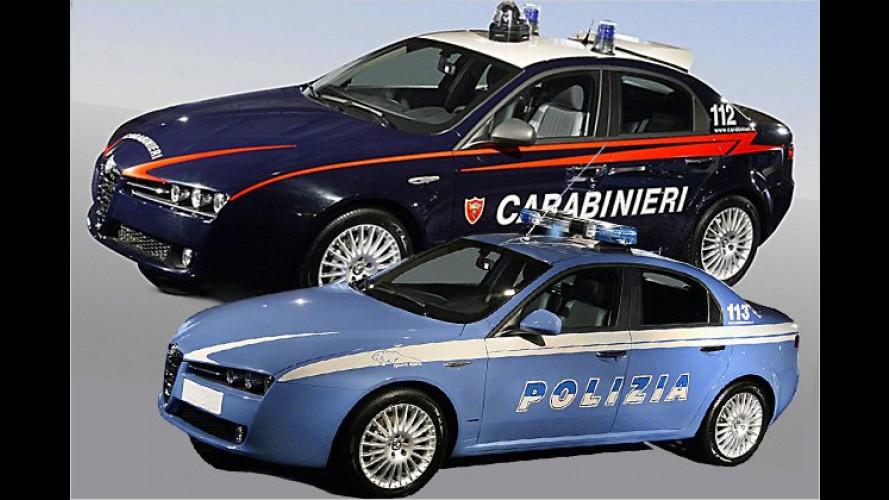 Blaulicht-Milieu: Polizeiautos aus ganz Europa