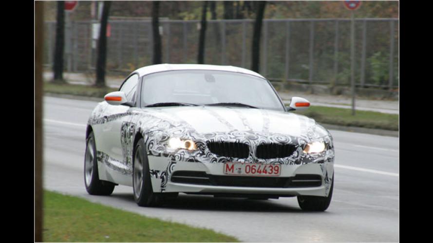 Erwischt: Die letzten Hüllen des neuen BMW Z4 fallen