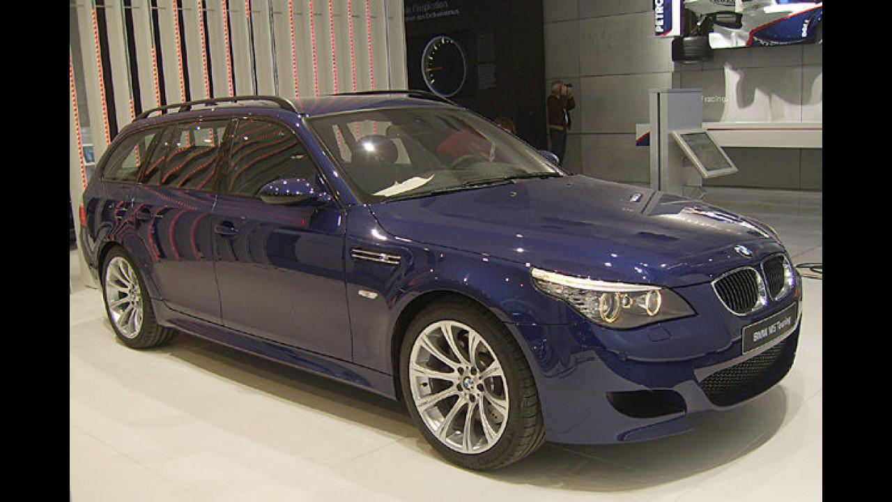 Starker Kombi: Der M5 mit 507 PS ist seit 2007 auch als Touring erhältlich