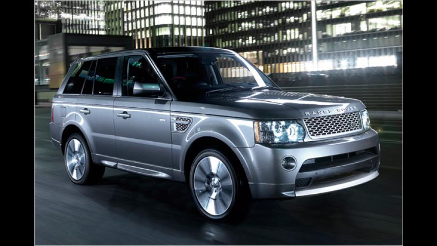 Neue Topausstattung: Range Rover Sport Autobiography