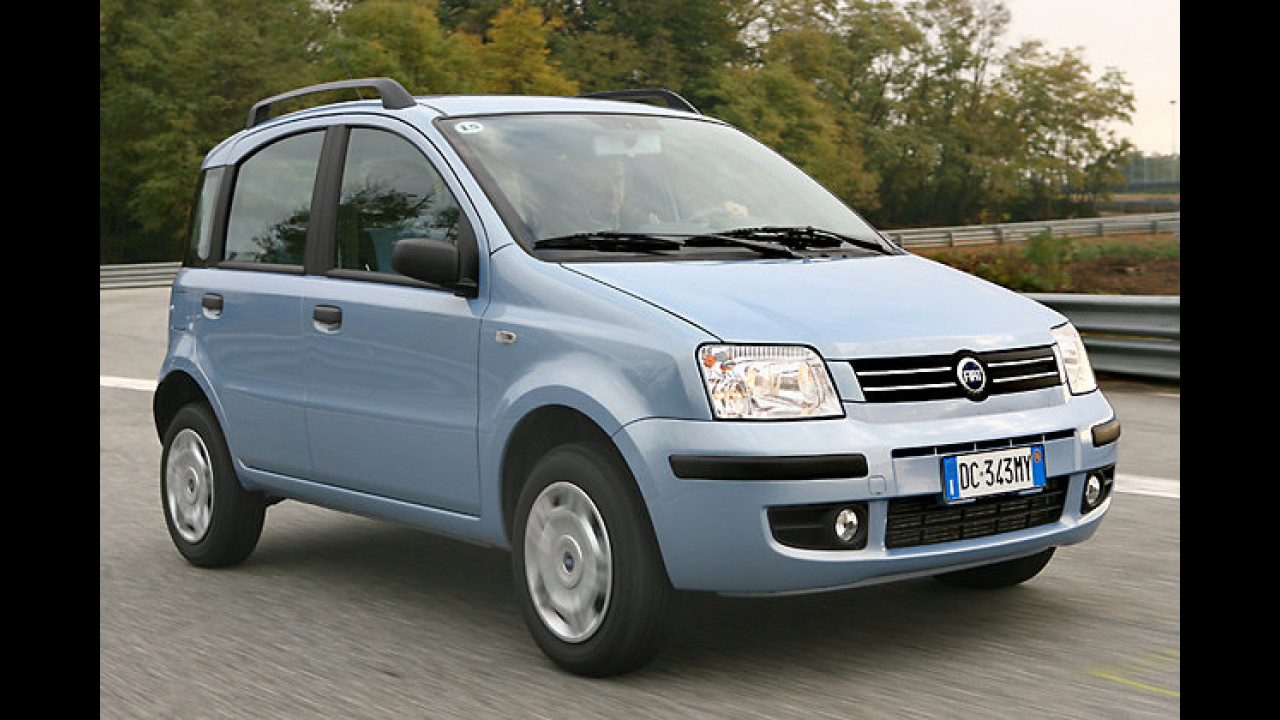 Kleinstwagen: Fiat Panda