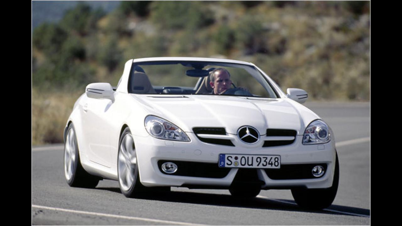 Frauenauto: Mercedes SLK