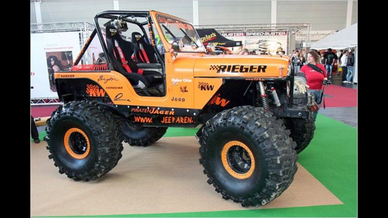 Nicht zu stoppen: Jeep Wrangler