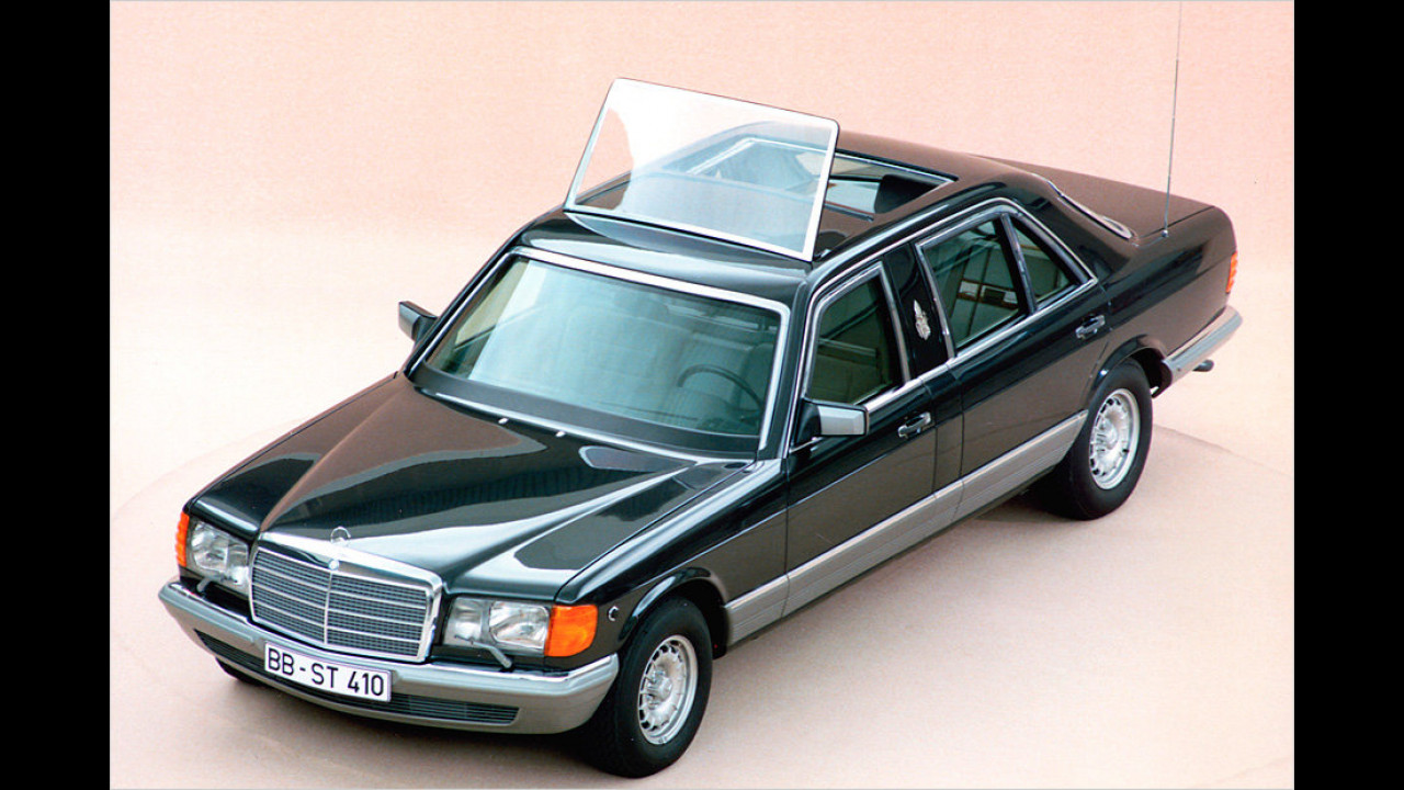Mercedes 500 SEL (1985)