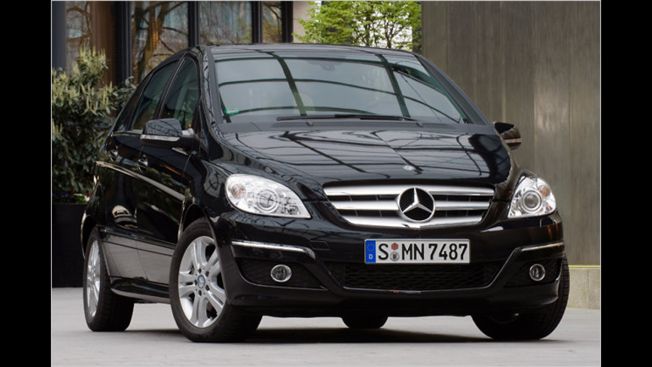 Mercedes B 180 CDI DPF