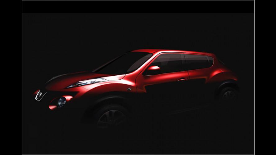 Nissan Juke: Neues Kleinwagen-Crossover-Modell