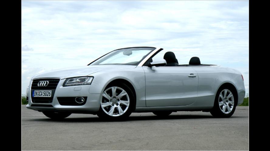 Umweltfreundlich cruisen: Audi A5 Cabriolet 2.0 TDI im Test
