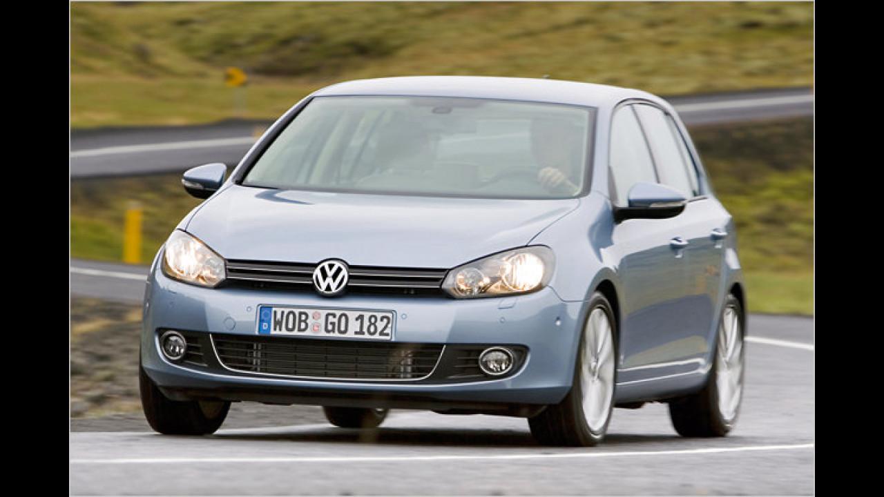 VW Golf 1.6 BiFuel Trendline 5-türig