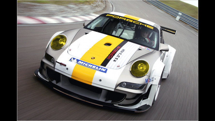Neuer Porsche 911 GT3 RSR