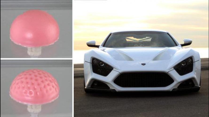 Auto del futuro come palline da golf?