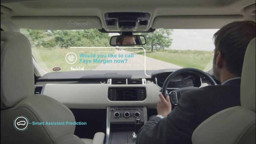 Jaguar e Land Rover lavorano all'automobile intelligente
