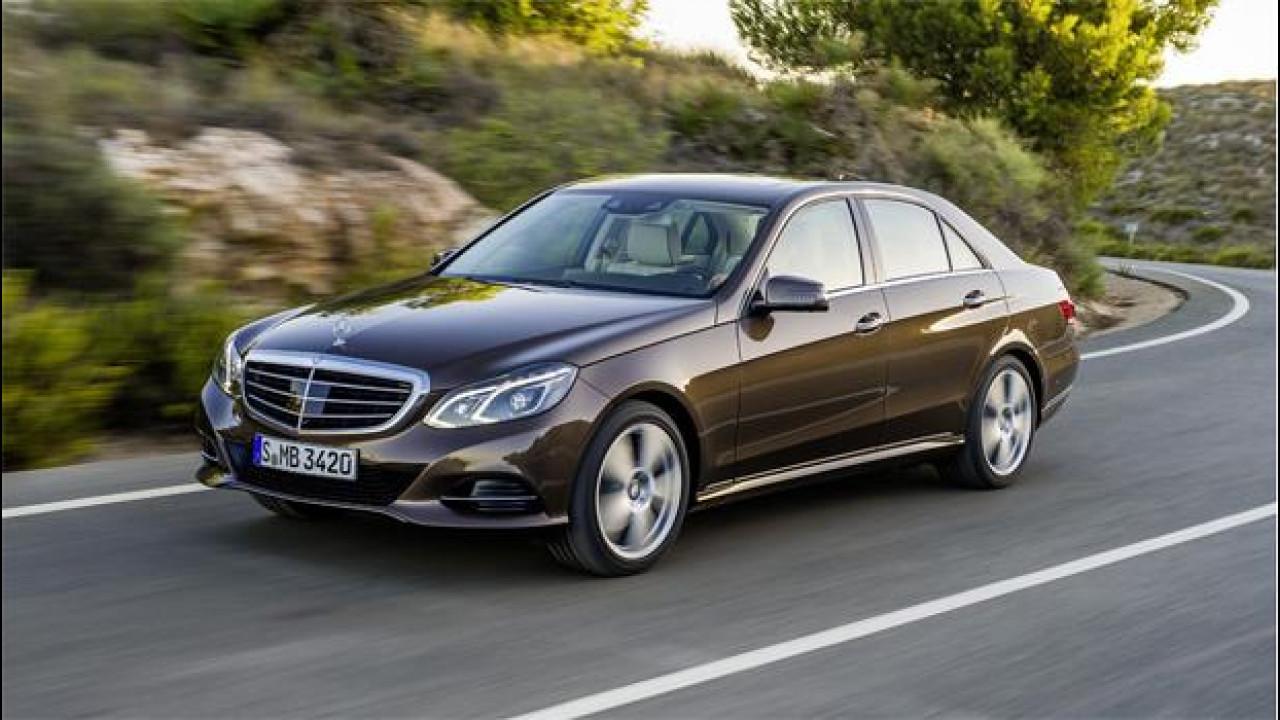 [Copertina] - Mercedes Classe E 220 CDI restyling, la turbodiesel per i lunghi viaggi