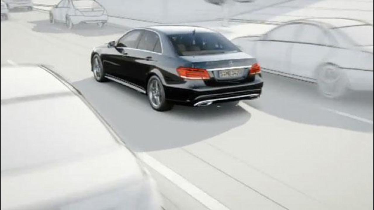 [Copertina] - Nuova Mercedes Classe E: i video dei sistemi di assistenza alla guida