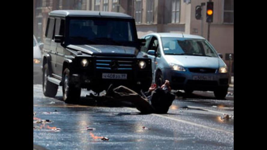 "Mercedes, 14 modelli nel film ""A Good Day to Die Hard"""