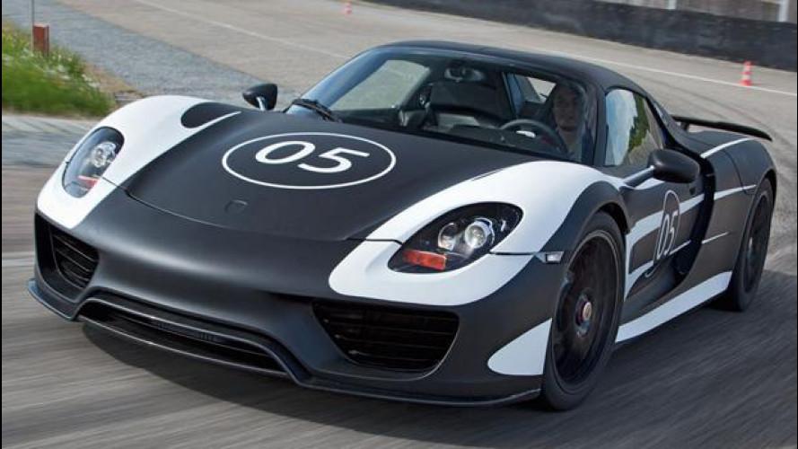 Porsche 918 Spyder: ecco il prototipo in azione