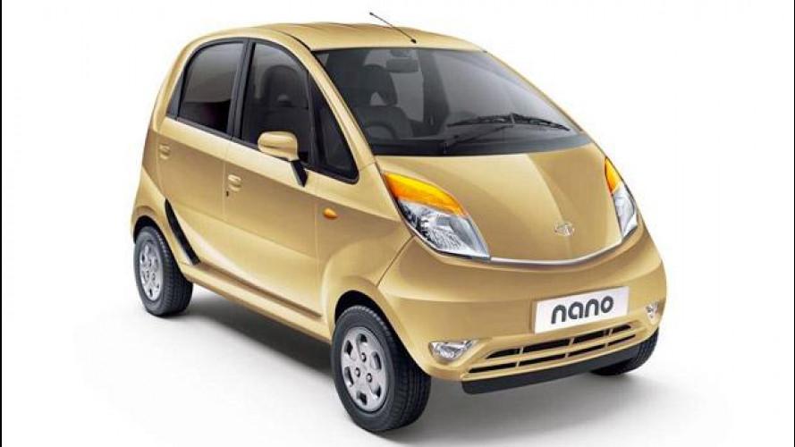 Tata Nano 2014, anche a metano